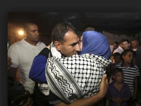 palestinian prisoner released 8.13