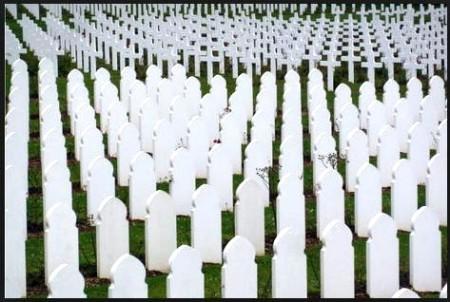 WW1 graves