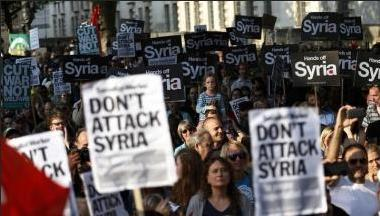 anti syrian war us 31.8.13