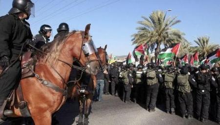 israeli arab protest bedouin