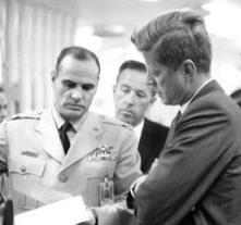 JFK and advisers