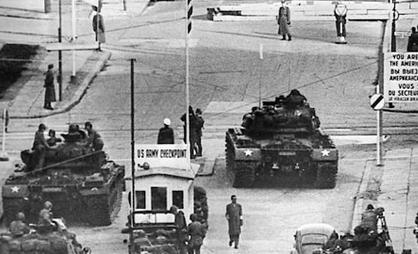 tanks checkpoint charlie