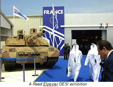 reed elzevier arms fair