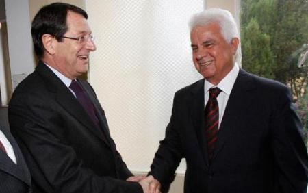 Greek &Turkish Cypriot leaders
