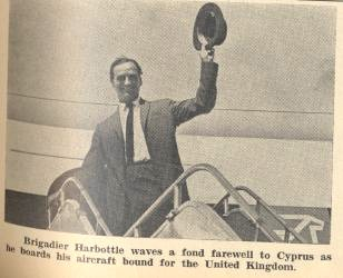 michael harbottle leaving cyprus