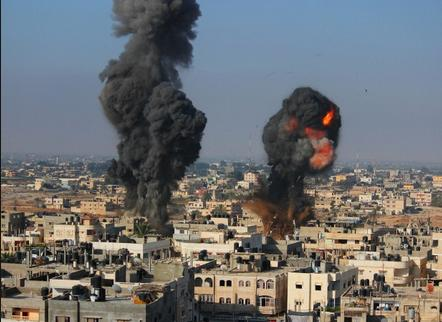 Strike on Rafah, southern Gaza