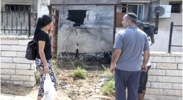 damage done in southern israel