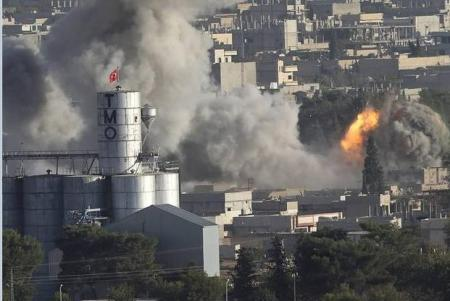 kobani attacked
