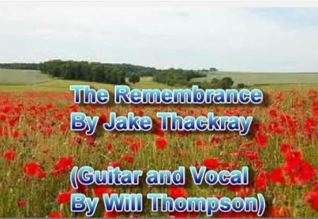 remembrance day jake thackray