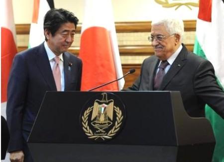 gaza abbas meets j pm