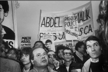 paris protest 86