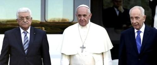 pope israeli palestinian presidents