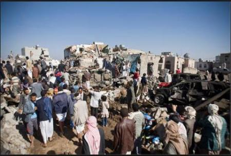 yemen search 4 survivors