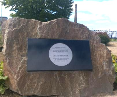 plaque ww1 glasgow