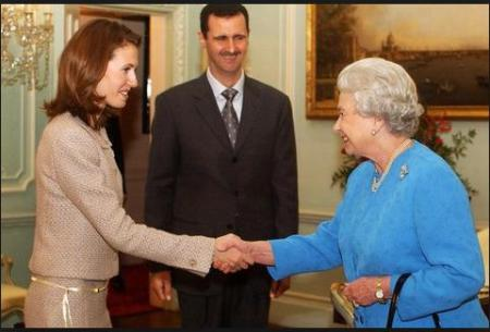 syria assad queen